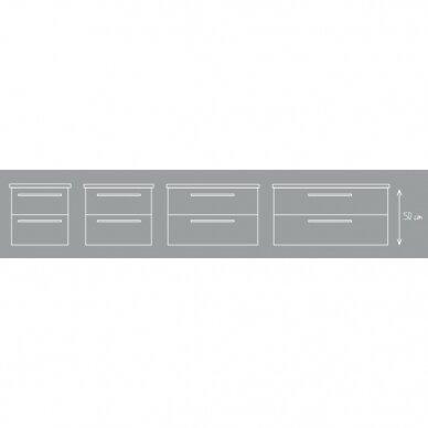 Vonios spintelė su praustuvu Scandic 51, 61, 81, 101 cm 8