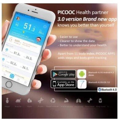 Vonios svarstyklės PICOOC Smart Digital Mini V2 4