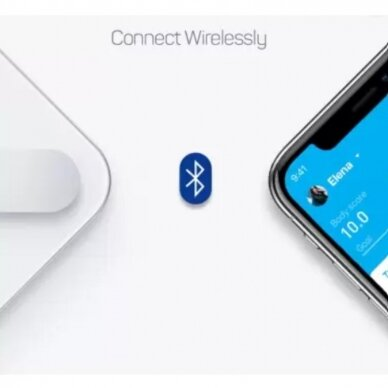 Vonios svarstyklės PICOOC Smart Digital Mini V2 5