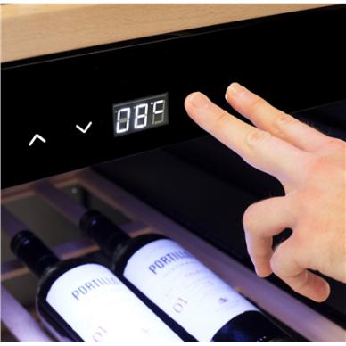 Vyno šaldytuvas CASO Wineexclusive 126 Smart 5