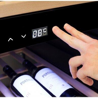 Vyno šaldytuvas CASO WineExclusive 180 Smart 3