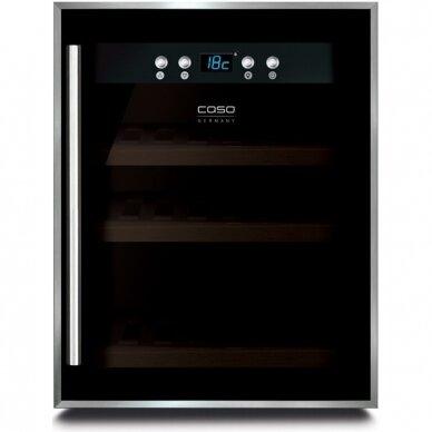 Vyno šaldytuvas Caso WineSafe 12