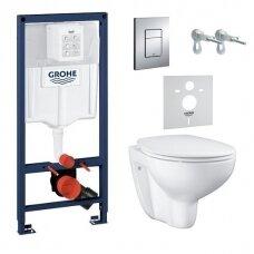 WC komplektas Grohe Bau Ceramic Rimless