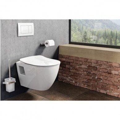 WC komplektas Ravak Endo unitazas ir Grohe WC rėmas Rapid SL 5in1 2