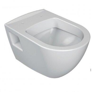 WC komplektas Ravak Endo unitazas ir Tece rėmas 4