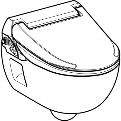 WC puodas ir išmanusis dangtis Geberit AquaClean 4000 3