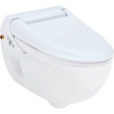 WC puodas ir išmanusis dangtis Geberit AquaClean 4000