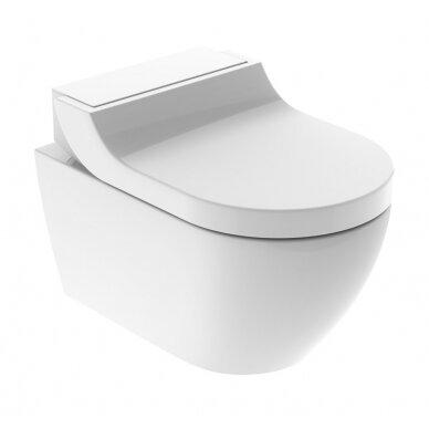 WC puodas ir išmanusis dangtis Geberit AquaClean Tuma Classic