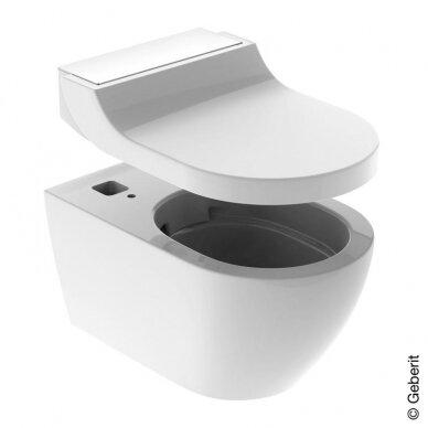 WC puodas ir išmanusis dangtis Geberit AquaClean Tuma Comfort 2