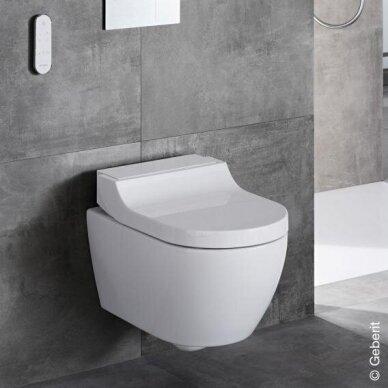 WC puodas ir išmanusis dangtis Geberit AquaClean Tuma Comfort