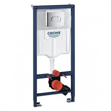 WC rėmo komplektas Grohe Rapid SL 3in1 2