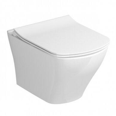 WC unitazo sėdynė Ravak Classic Slim 2