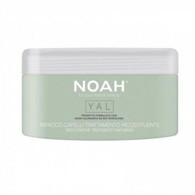 Plaukų kaukė su hialuronu Noah YAL atkuriamojo poveikio 200 ml